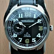 Jaeger-lecoultre Mens Swiss Military Wristwatch 51mm