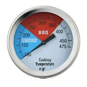 2-inch Bbq Oven Grill-smoker-pit Thermometer Cooking Temperature Temp Gauge E0