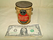 Maclarenandrsquos Peanut Butter Canada Advertising Food Tin Pail Can No Bail