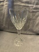 Araglin By Waterford Clear Crystal Water Goblet 7 7/8, Gently Used