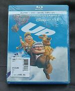 New Sealed Disney Pixar Up 5 Disc Combo Blu-ray 3d Dvd + Digital Copy All In One