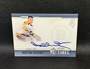 2011-12 Upper Deck Sp Authentic Bobby Orr Sign Of The Times Auto Autograph Sp
