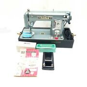 Morse 600 Vintage Sewing Machine Tested Works Great Pre Owned With Case
