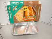 Swanson 1970 Beef Enchilada Mexican Tv Dinner Vintage Frozen Food Box +tray 2
