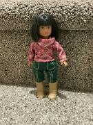 American Girl 6.5 Mini Doll Ivy With Complete Meet Outfit
