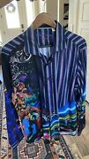 Robert Graham Doctor Who Sport Shirt Xl Exclusive Collection