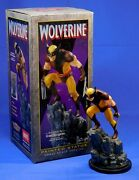 Wolverine Brown Small Version Painted Bowen Statue 2001 7 Tall X-men