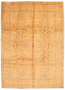 Traditional Hand-knotted Oriental Carpet 9'4 X 13'3 Area Rug In Light Brown