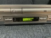 Sony Slv-d300p Dvd Vhs Combo Player - Tested - Works - No Remote