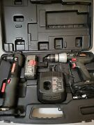 Craftsman 19.2v Set 1/2 Drill 3/8 Right Angle One Battery Charger Case