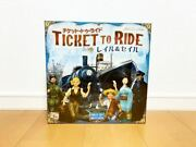 Board Game Ticket To Ride Rail And Sail Japanese Version