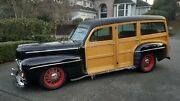 1947 Ford Woodie Deluxe Resto-rod 1947 Ford Woodie Deluxe Wagon Resto-rod