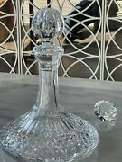 New Waterford Crystal Lismore Decanter - Grt4 Whiskey - 750 Ml, 520 B4 Shipping
