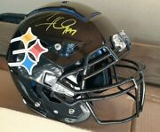 Cameron Hayward Pittsburgh Steelers Autographed Schutt F7 Full Size Authentic...
