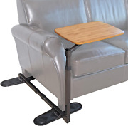 Able Life Universal Swivel Tv Tray Table Portable Laptop Desk Adjustable Couch