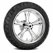 For Harley-davidson Road King 09-19 Fierce Rear Wheel Kit W Tires And Rotors