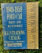 1949 - 1959 Parts And Accessories Illustrations Ford Car Catalog Book
