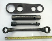 4 Ford Automotive Tools, Spanners Etc. From Car Or Tractor Toolkit