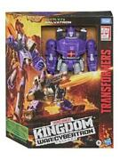 Transformers Kingdom Galvatron Leader Class War For Cybertron Wfc-k28 In Stock