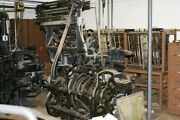 Antique Linotype Machines 2 Working 1 For Parts Only