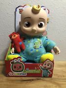 Cocomelon Jj 10-inch Plush Doll Musical Bedtime Sing Toy New In Box Rare In Hand