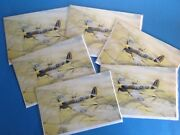 New Sealed-spitfire Birthday Card And Envelope-raf-ww11-aircraft-aviation-military