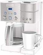 Cuisinart Ss-15w Maker Coffee Center 12-cup Coffeemaker And Single-serve Brewer