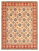 Vintage Geometric Hand-knotted Carpet 9and0399 X 12and0397 Traditional Wool Area Rug
