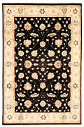 Vintage Hand-knotted Carpet 5and03911 X 9and0390 Traditional Oriental Wool Area Rug
