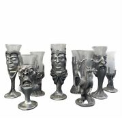 Royal Selangor Pewter Lord Of The Rings Lotr 8 Shot Glass Collection