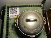 Wagner Cast Iron 8 Dutch Oven - Plated. 1268
