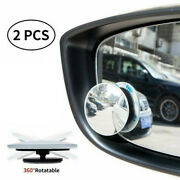 2x Blind Spot 50mm Towing Rear View Mirror For Car Motorcycle Van Motorbike Taxi
