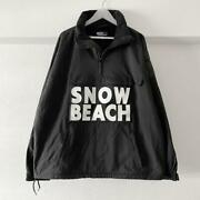 Pre-owned Polo Snow Beach Pullover Jacket Size Xl Black