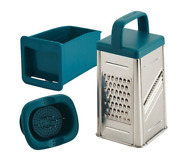 Tools And Gadgets Box Grater - Teal