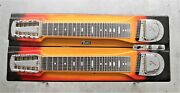 Local Pick Up Only Fender Double Neck Pedal Steel Guitar 1960s In Working Order