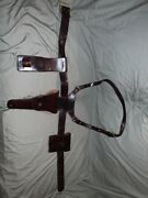 Awesome Vintage Ww11 Us Boyt Revolver Shoulder Holster W/ Belt And Acces. Holsters