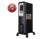 Pelonis Whole Room Digital Electric 1500w Oil Filled Radiator Heater With Remote