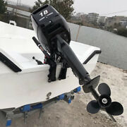 2 Stroke 18hp Outboard Motor Engine Fishing Boat Cdi Water Cooling System 13.2kw