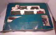Boxed Dept 56 Macau Village Express Ho Scale Train And Track Set 5997-8 Works