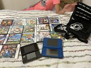 Vintage Nintendo3ds And Dsxl Lot With Games And Case, Working