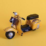 Free Shipping Oversized Metal Tin Toys Motorcycles Motorcycles Scooter Vespa Y