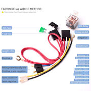 Farbin 12v 80a Air Horn Relay Wiring Harness Kit For Car Truck Motorcycle Train