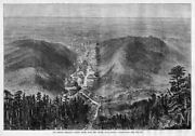 Hot Springs, Arkansas, Looking South Down The Valley