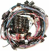 1969 Corvette Wiring Harness Dash No Air Conditioning Us Reproduction C3 New
