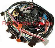 1979 Corvette Wiring Harness Dash With Power Windows Us Reproduction C3 Usa New
