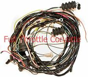 1972 Corvette Wiring Harness Rear Lamp Body Us Made Reproduction C3 New
