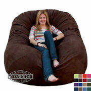 Bean Bag Chairs By Cozy Sack Premium Xl 6and039 Cozy Foam Chair Factory Direct