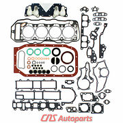 For 85-95 Toyota 2.4l 22re Full Gasket W/ Oversize Thickness.50mm Head Gasket