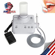 New Dental Ultrasonic Piezo Scaler And 2 Bottles With Ems Tips And Handpiece A7 Sale