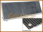 Plastic Abs Universal Black Sport Mesh Grill Grille Car Stock Oe Style 15x46 A